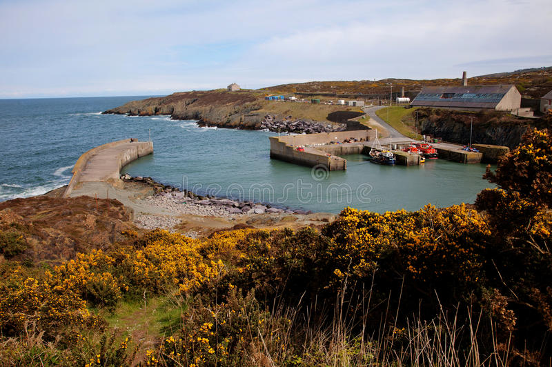 Port d'Amlwch images libres de droits