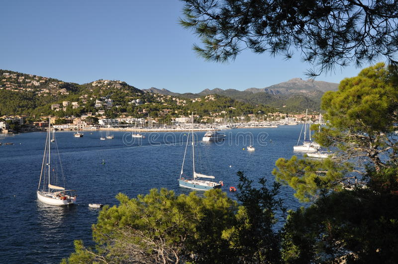 Port D Andratx, Majorca Royalty Free Stock Photography