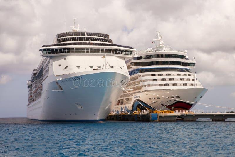 Port d'appel - Cozumel, Mexique photos libres de droits