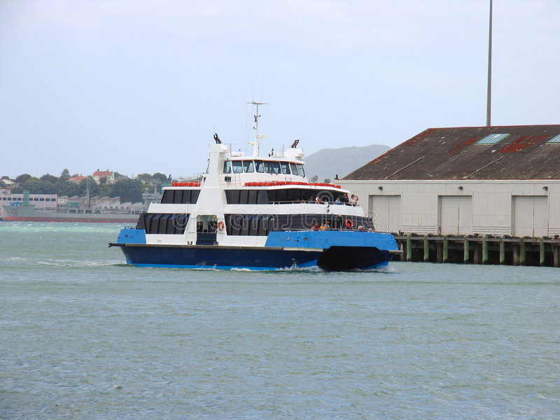 Port d'Auckland photographie stock