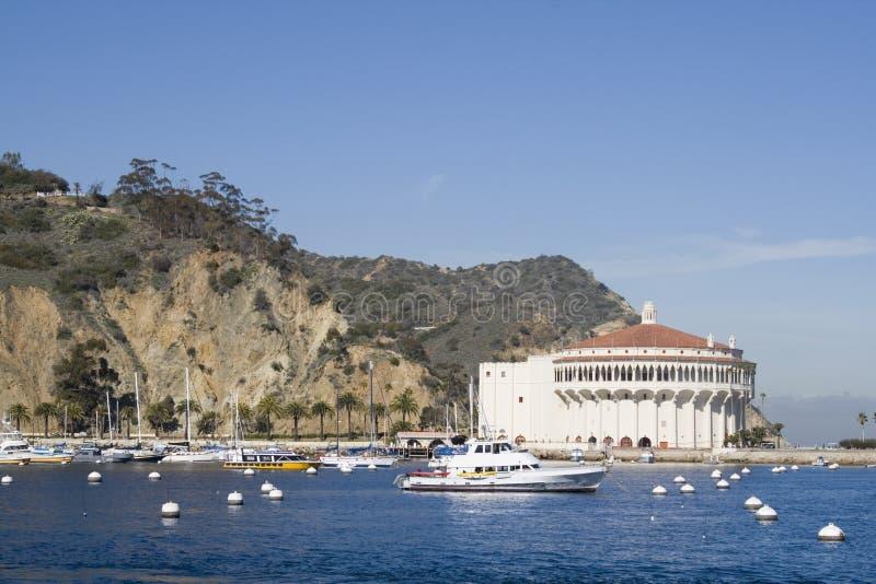 Port d'Avalon - île de Catalina image stock