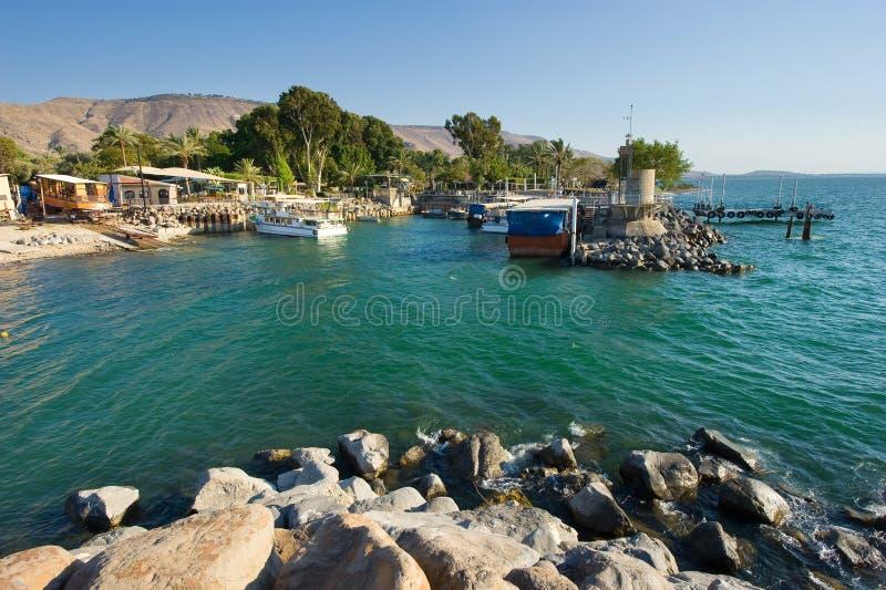 Port d'Ein Gev image libre de droits