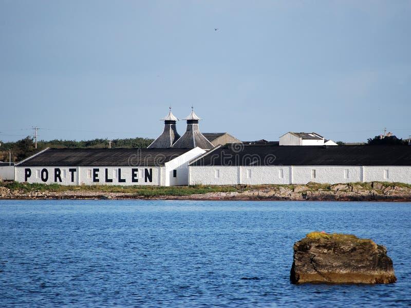 port d'Ellen photo libre de droits