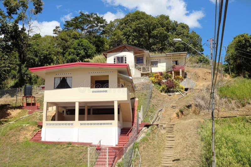 Port-d'Espagne en Trinité-et-Tabago photos stock
