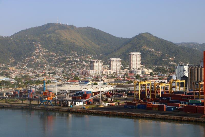 Port-d'Espagne, Trinidad-et-Tobago photographie stock libre de droits