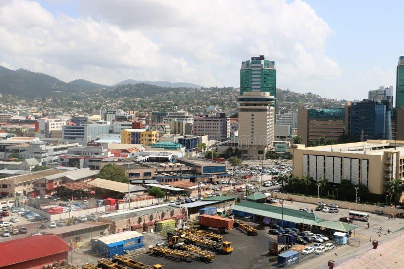 Port-d'Espagne, Trinidad-et-Tobago photo stock
