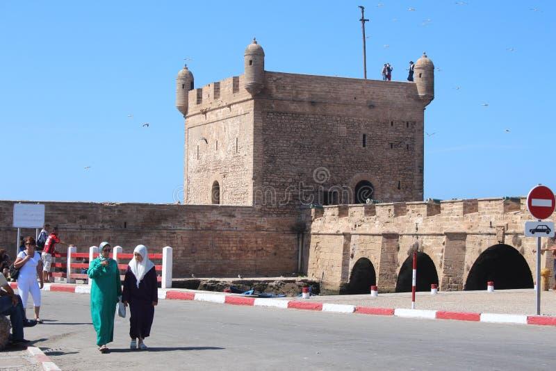 Port d'Essaouira, Maroc photo libre de droits