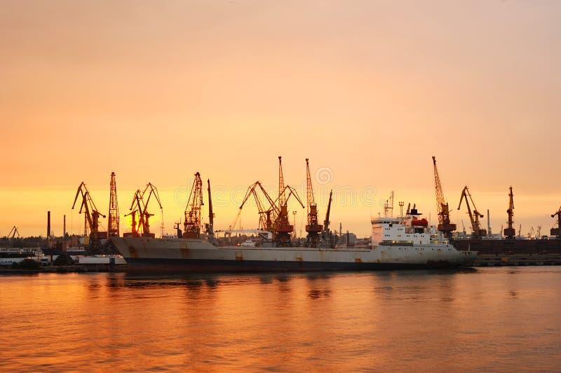 Port d'Odessa photo libre de droits