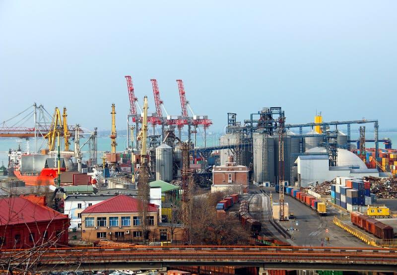 Port d'Odessa, Ukraine photographie stock