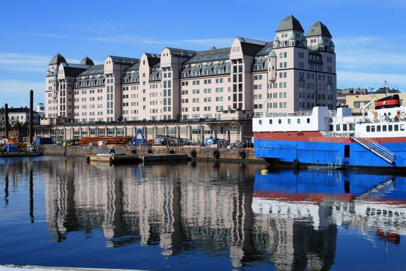 port d'Oslo photographie stock