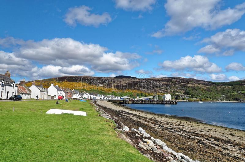 Port d'Ullapool, Ecosse photos stock