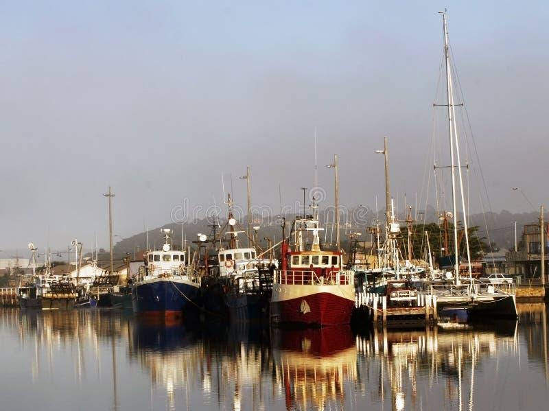 Port de bateau photo stock