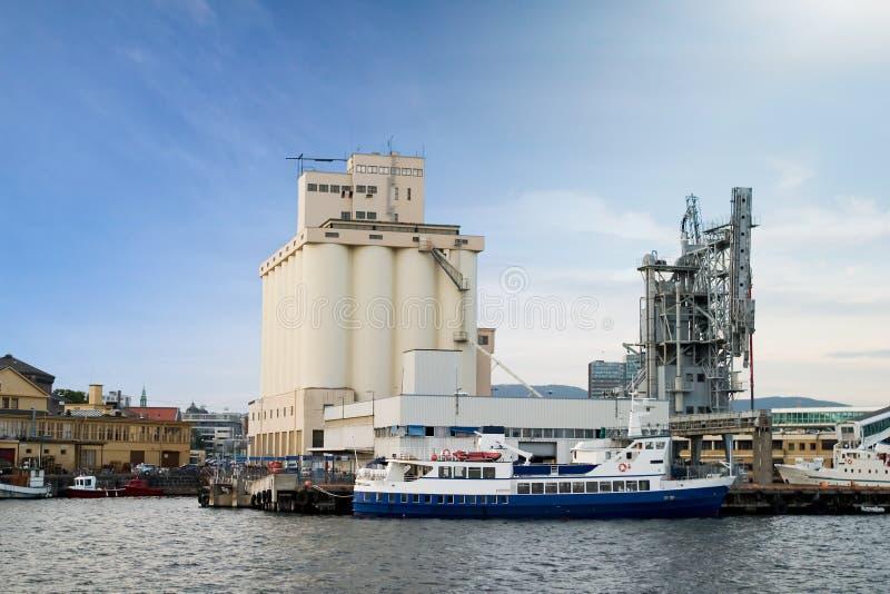 Port de bord de la mer photo libre de droits