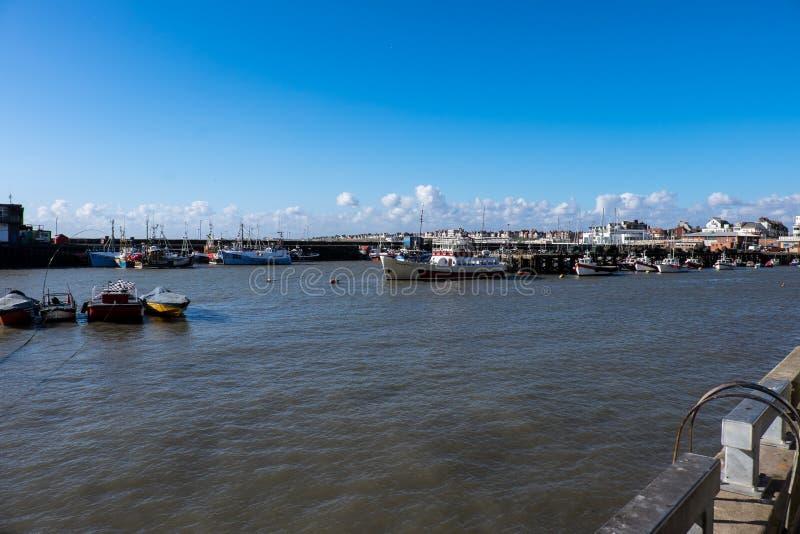 Port de Bridlington photographie stock