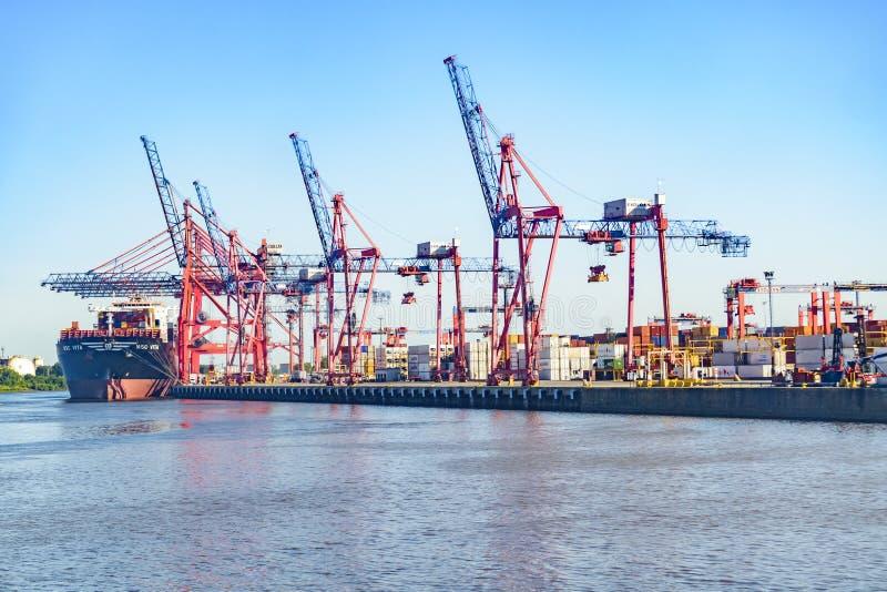 Port de Buenos Aires photo libre de droits