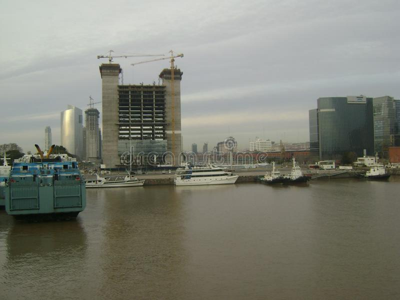 Port de Buenos Aires photographie stock