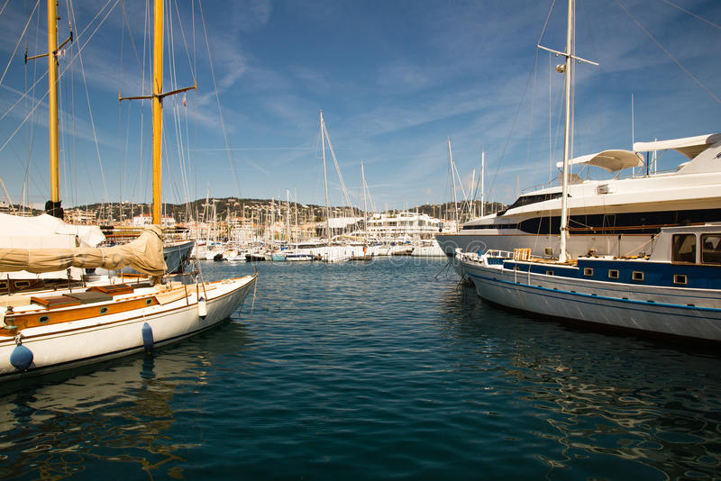 Port de Canne images libres de droits