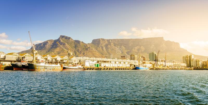 Port de Cape Town photographie stock libre de droits