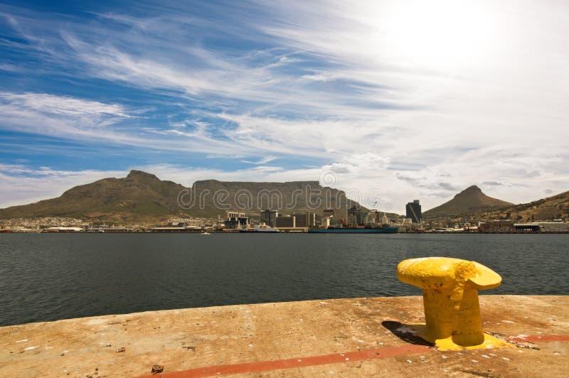 Port de Cape Town photographie stock
