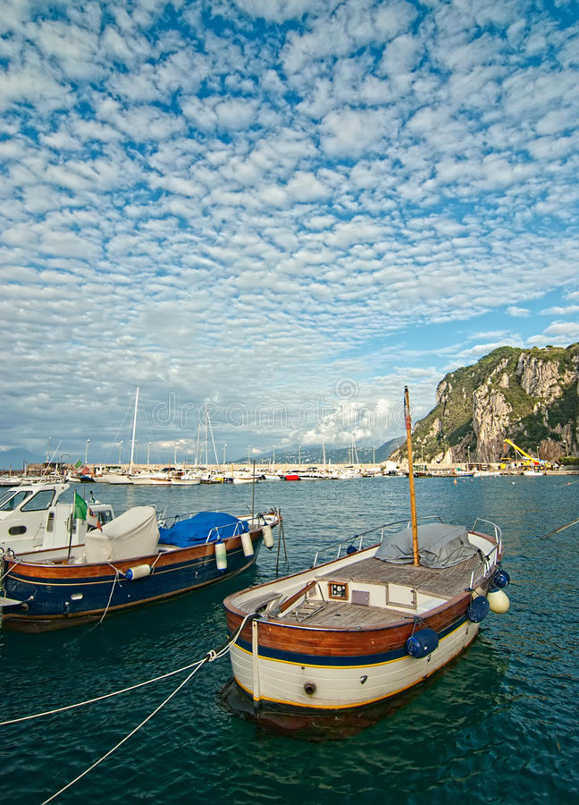 Port de Capri image stock