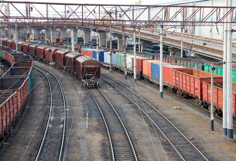 Port de cargaison d'Odessa photo stock