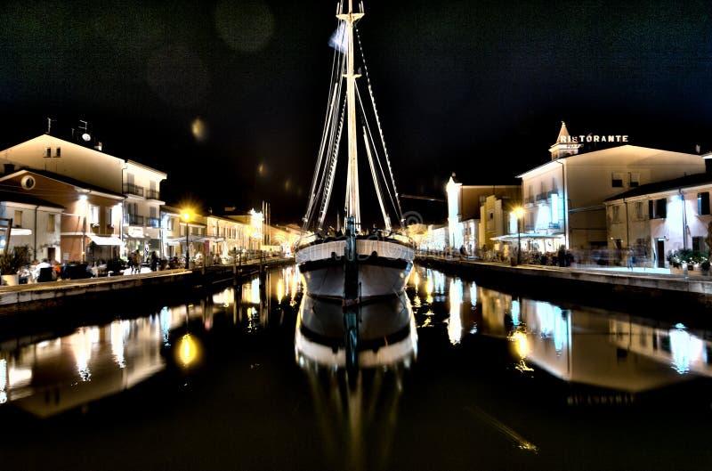 Port de Cesenatico photo libre de droits