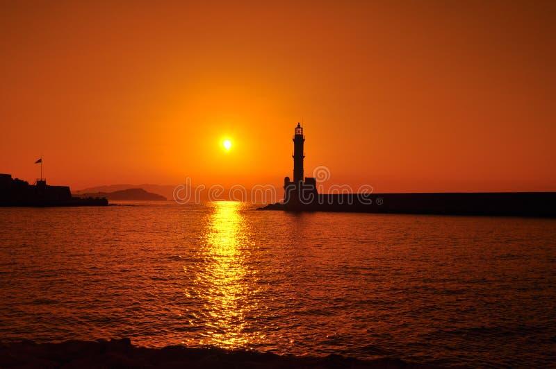 Port de Chania photographie stock libre de droits