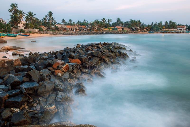 Port de Dodanduwa, Sri Lanka photographie stock