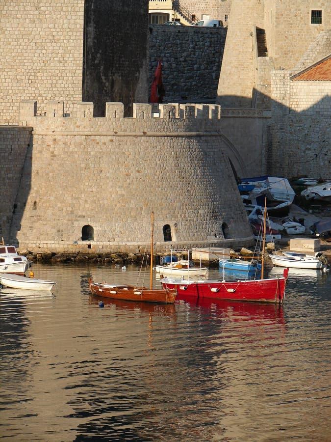 Port de Dubrovnik photo libre de droits