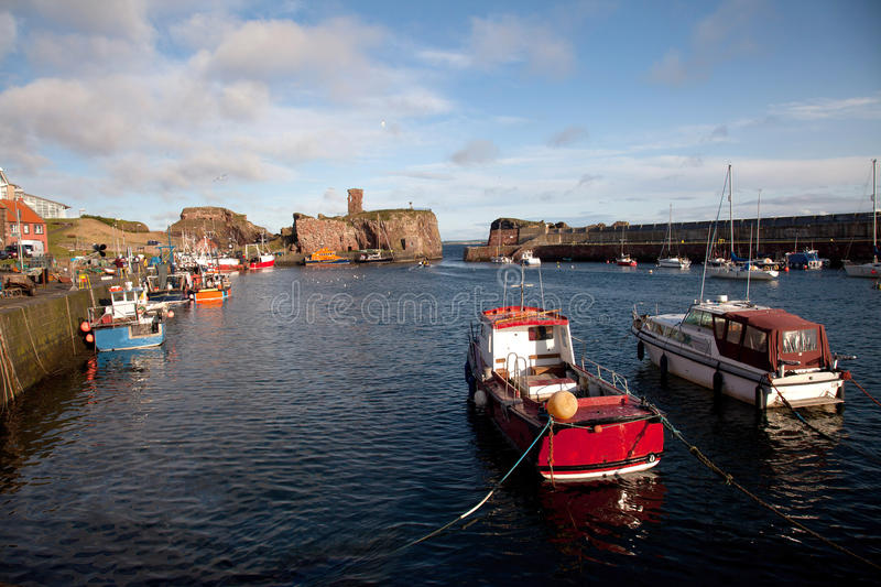 Port de Dunbar photo stock