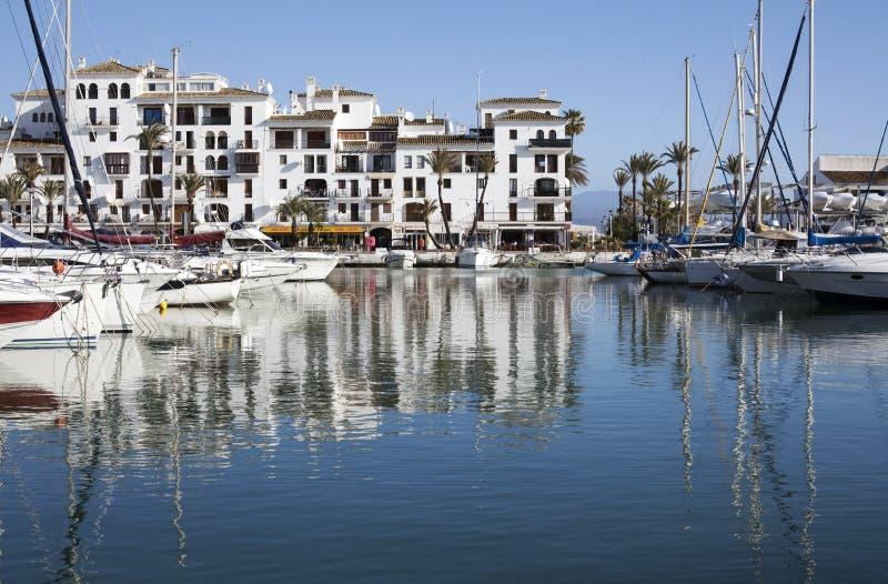 Port de Duquesa, Espagne photographie stock