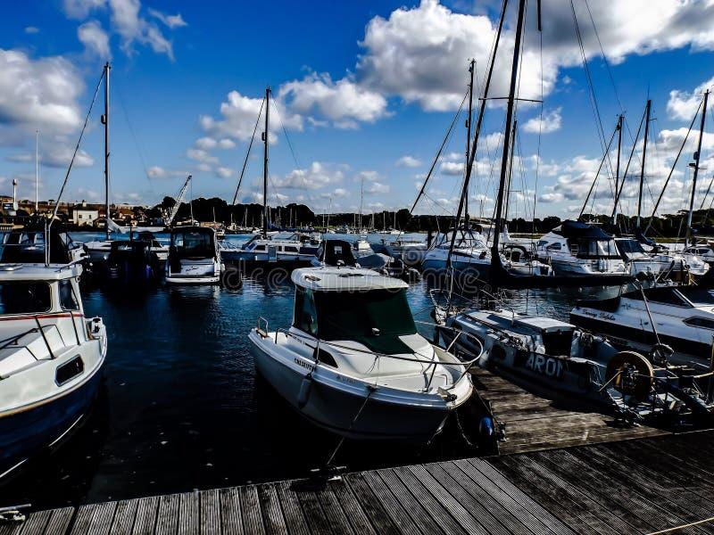 Port de Fareham photos stock