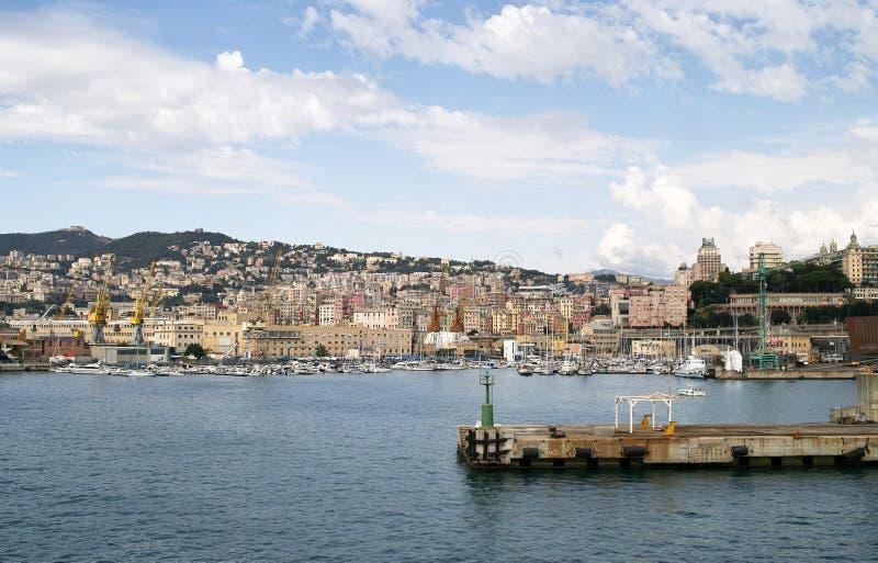 Port de Gênes photos libres de droits