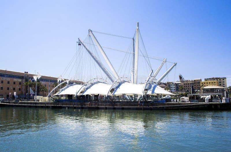 Port de Gênes en Italie photographie stock