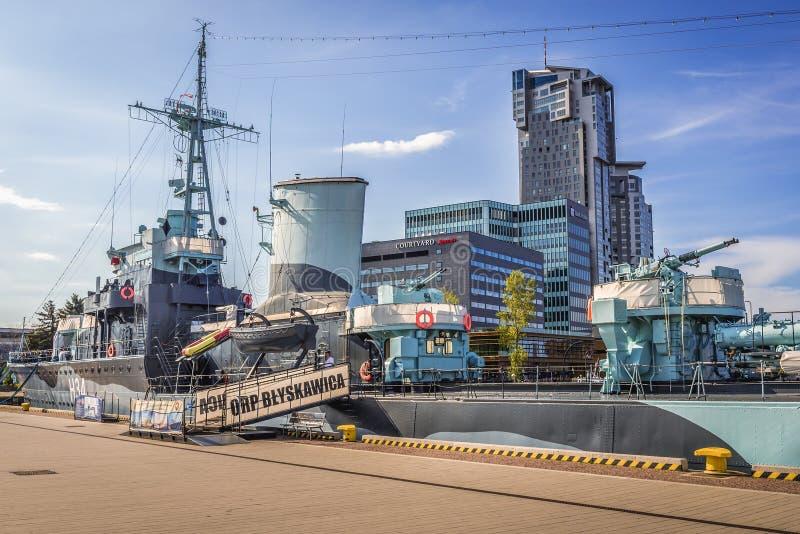 Port de Gdynia image libre de droits