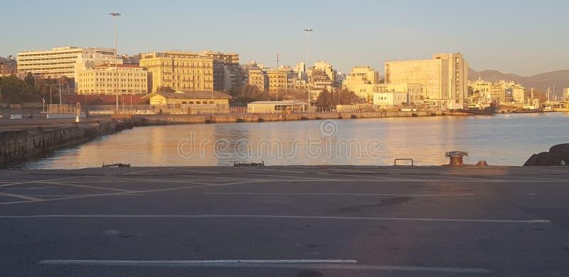 Port de Héraklion photos stock