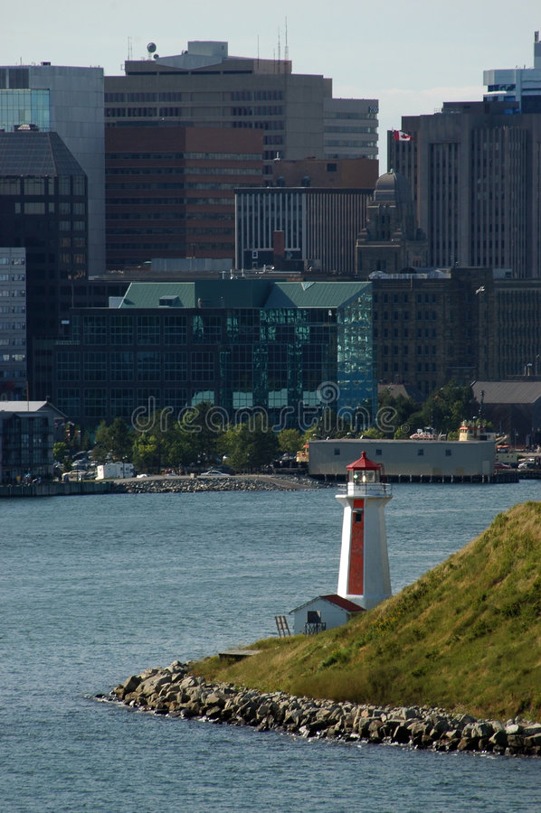 Port de Halifax image libre de droits