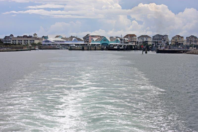 Port de Hatteras photo libre de droits