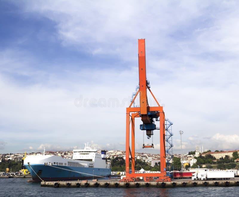 Port de Haydarpasa, Istanbul images libres de droits