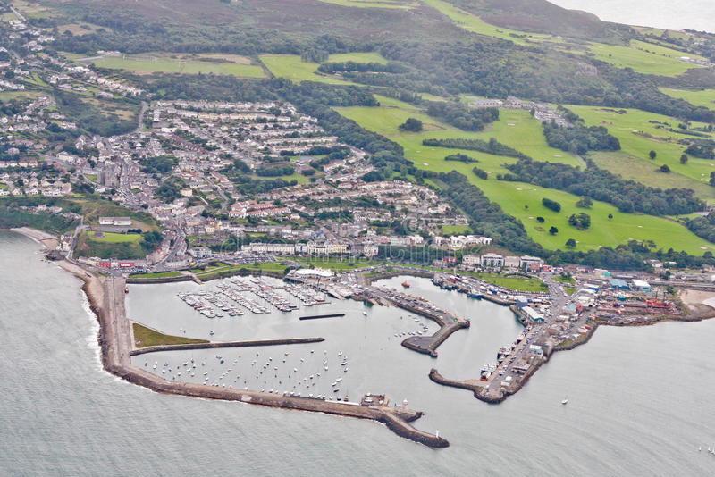 Port de Howth, Dublin, Irlande image libre de droits