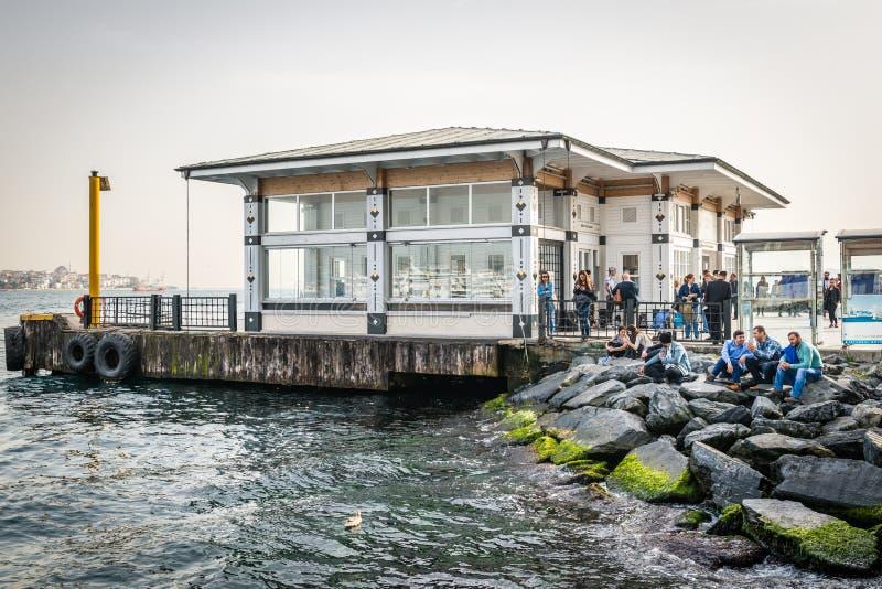 Port de Kadikoy dans Besiktas à Istanbul, Turquie photographie stock