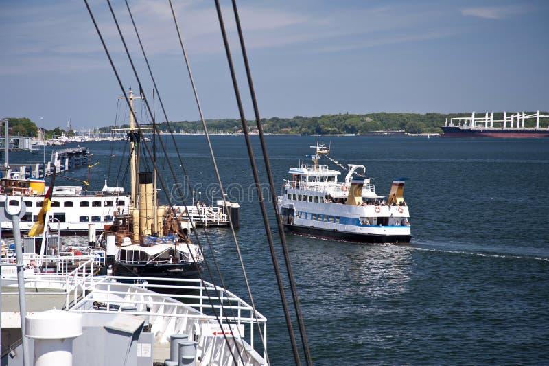 Port de Kiel images stock