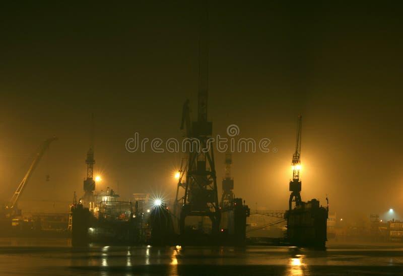 Port de Klaipeda images libres de droits