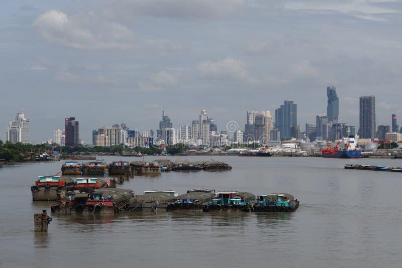 Port de Klong Toie de la Thaïlande image libre de droits