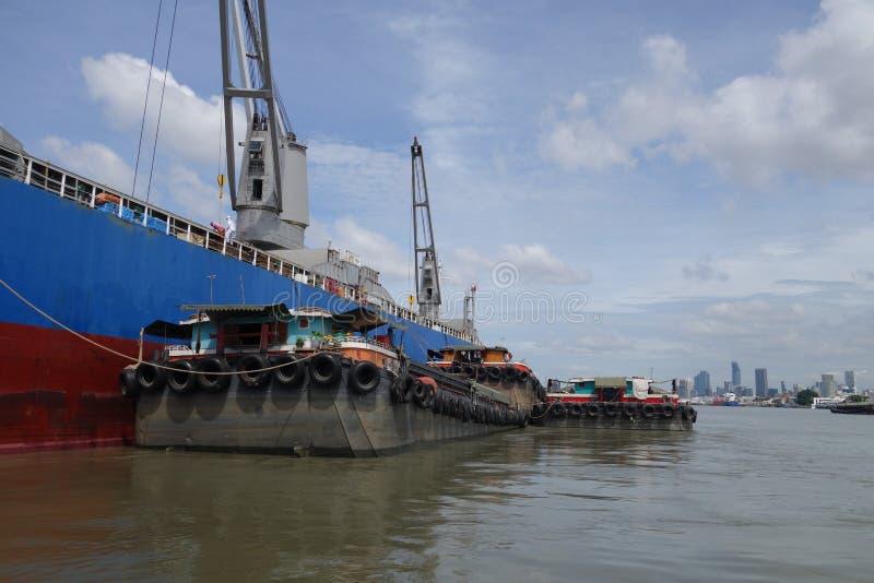 Port de Klong Toie de la Thaïlande images stock