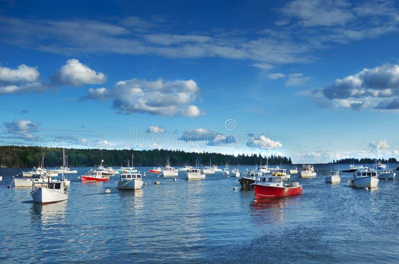Port de la Nouvelle Angleterre photo stock