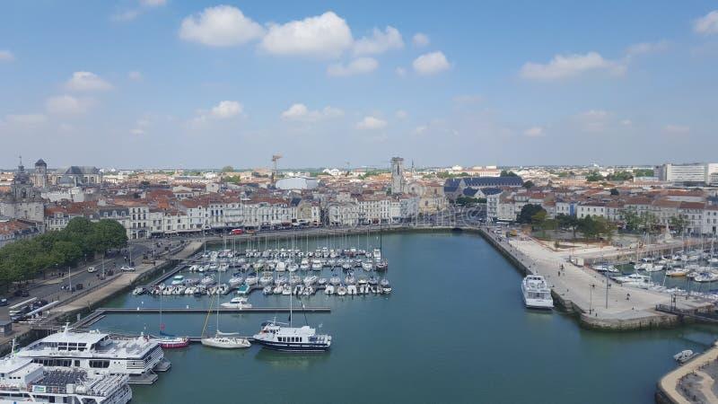 Port de La Rochelle arkivbilder