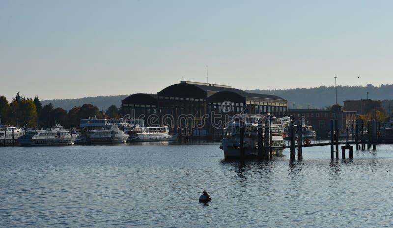 Port de lac photo libre de droits