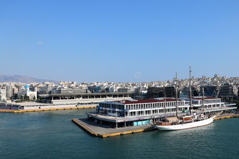 Port de Le Pirée photographie stock
