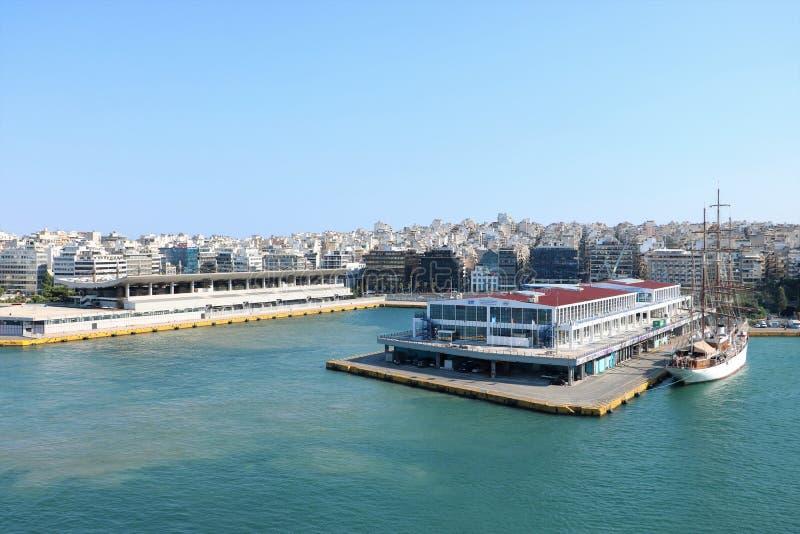 Port de Le Pirée photo stock